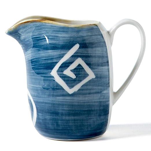 Jarra de cerámica para té y leche estilo japonés - Jarra de ...
