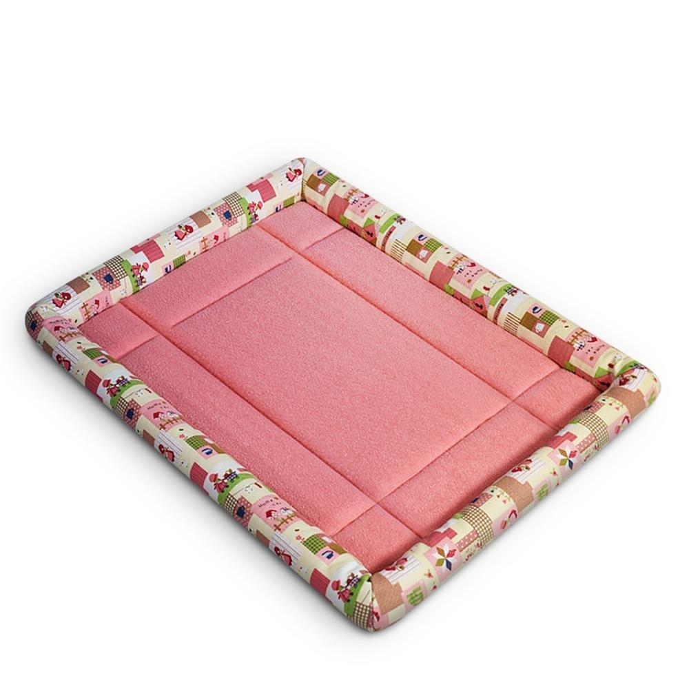 D L D L Weiwei Dog Bed Moisture-Proof Comfort Breathable bite-Resistant pet cat mat Dog Cat Nest