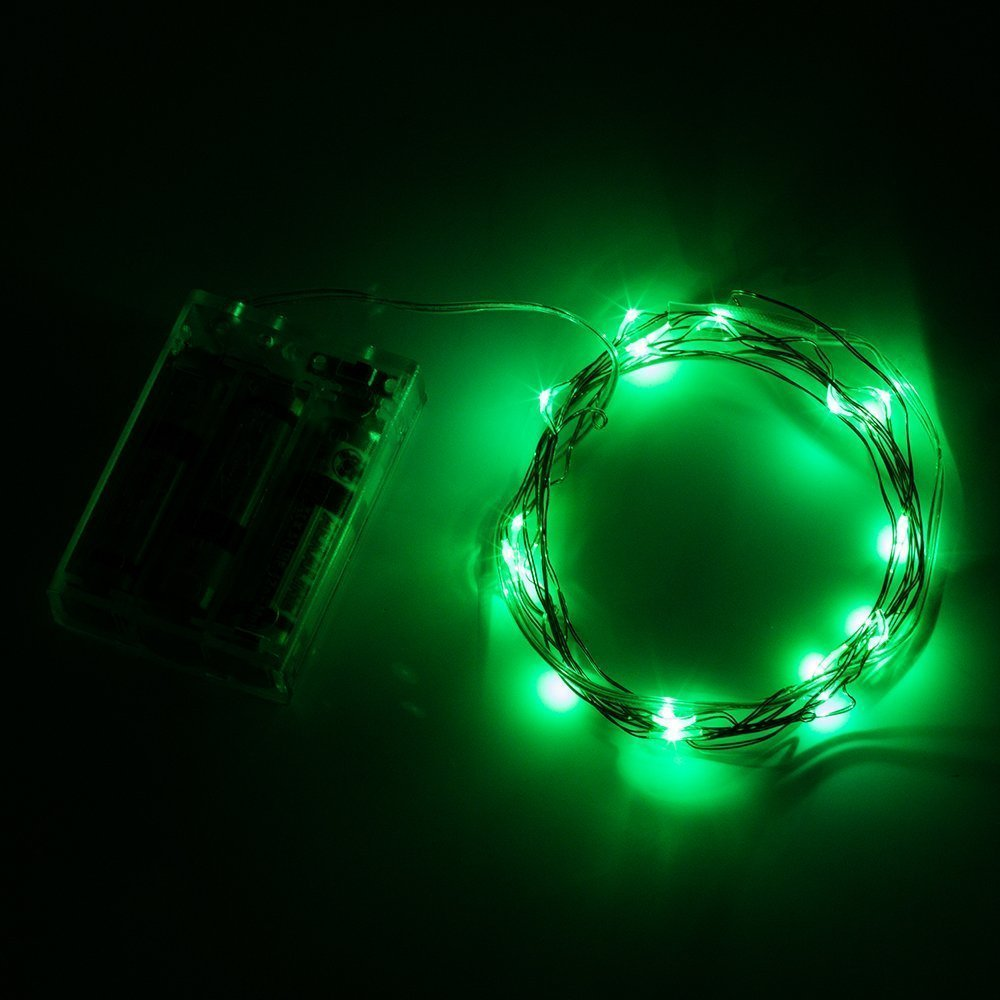 Amazon.com: Lily\'s Home Battery Operated 20 LED String Lights on ...