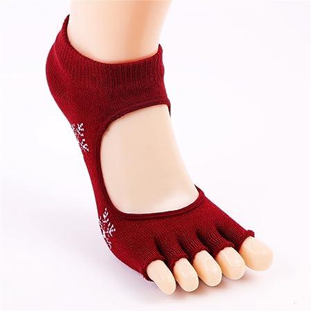 Calcetines de Yoga Antideslizantes Calcetines de Yoga Sra ...