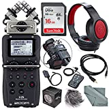 zoom h6 module - Zoom H5 Handy Recorder with Interchangeable Microphone System Including Samson Stereo Headphones and Deluxe Accessory Bundle