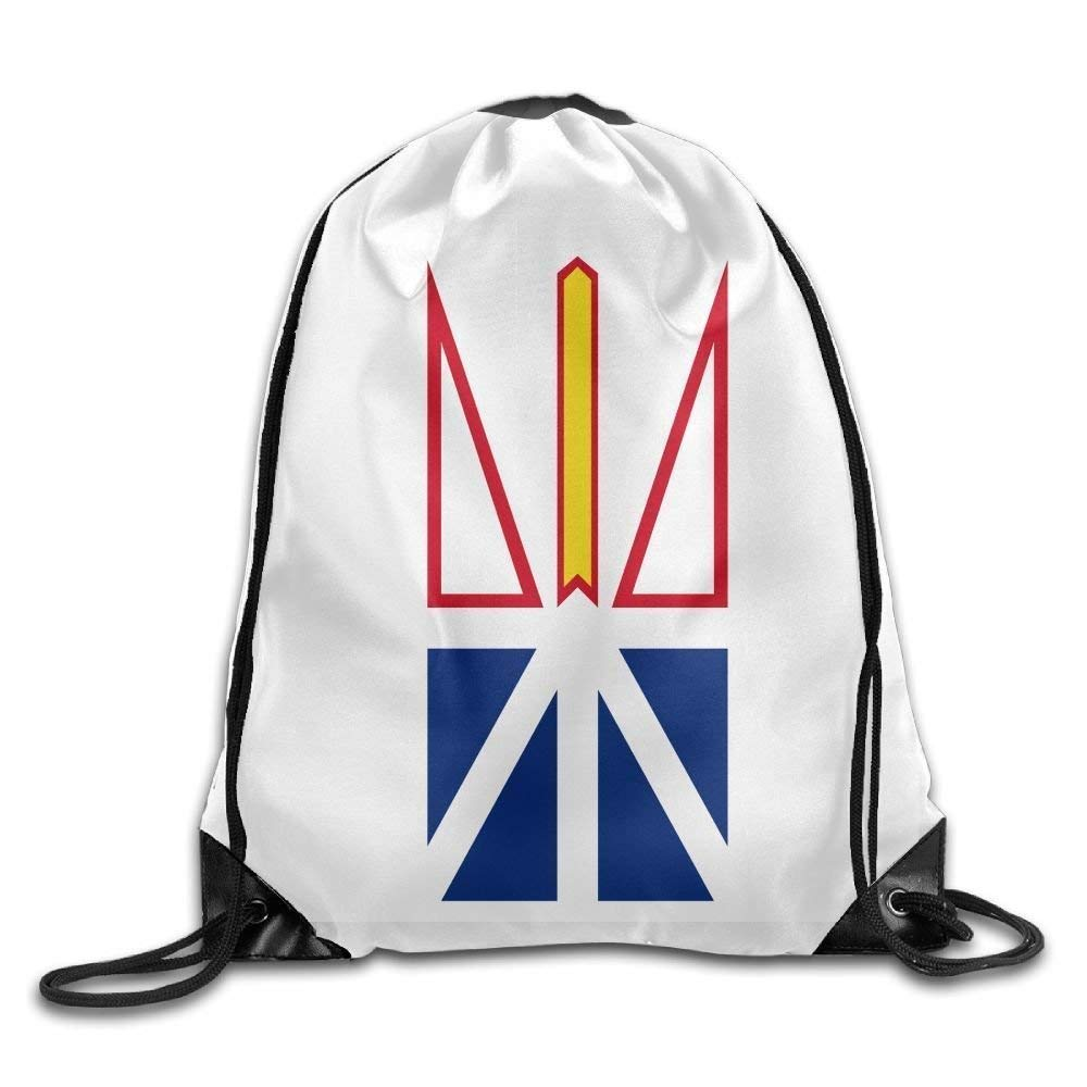Twin Sides New Mexico State Flag Sackpack Drawstring Bags Polyester Backpack Outdoor Sports Gym Bag Yoga Runner Daypack Team Training Gymsack Big Capacity