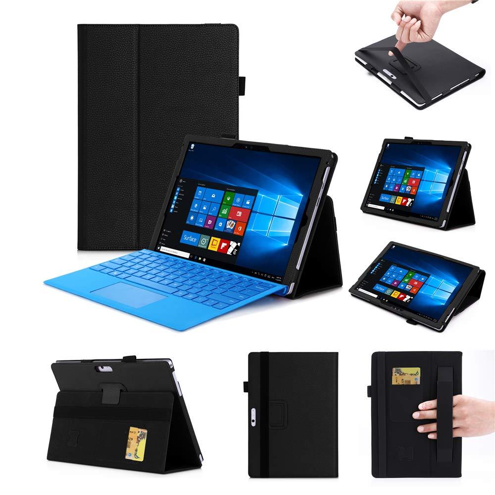 【限定特価】 Happon B07KY9Y81L Microsoft Surface Pro Pro 6 2018 Surface ブラック, Pro 5 Pro 4 Pro 3 12.3インチケース, ブラック, YZV4-WT-697 ブラック B07KY9Y81L, ツワノチョウ:877d1c19 --- a0267596.xsph.ru