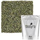 Tealyra - Sencha Fukujyu - Premium Japanese Green Loose Leaf Tea - Organicaly Grown - Antioxidants Rich - Caffeine Medium - 110g (4-ounce)