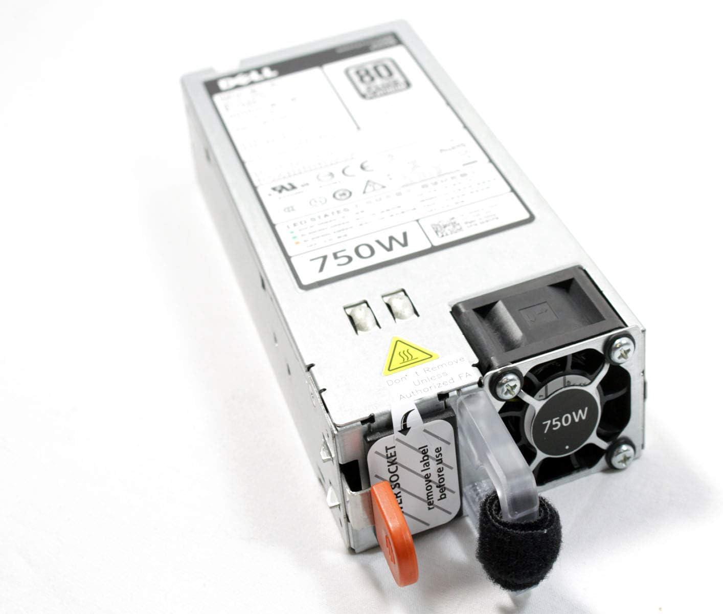 Dell 6W2PW 06W2PW 750W 80 Plus Platinum Hot Plug Power Supply Unit For Dell R520 R620 R720XD R820 T420 T320