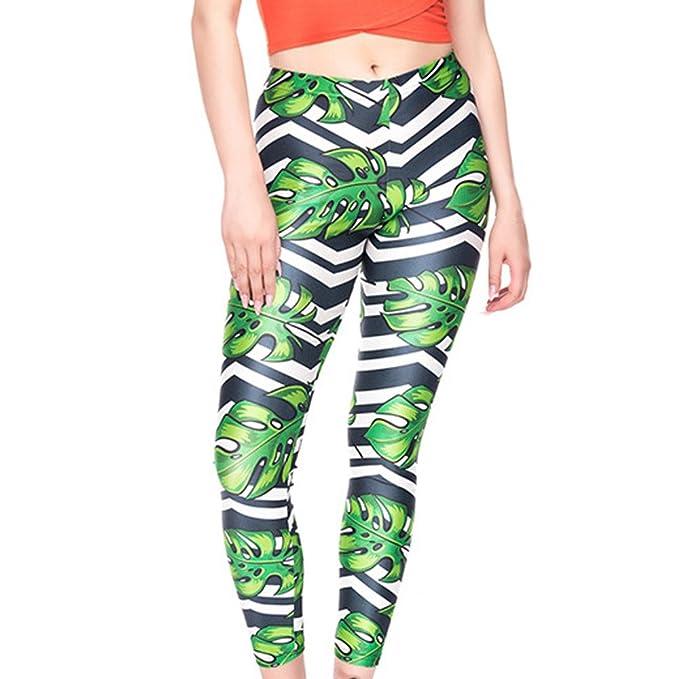 💗Weant💗Mallas Deportivas Mujer Pantalones Impresión de ...