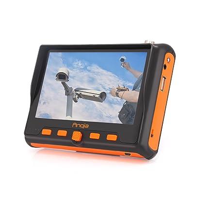 "ANQIA 5 MP CCTV Security Camera Tester,5"" AHD TVI CVI CVBS CCTV Analog"