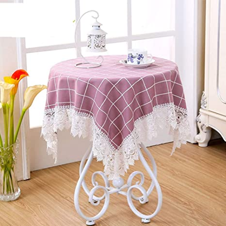 BATSDCB Countryside Small Round Lace Tablecloth