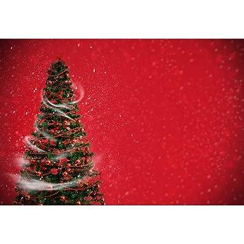 OERJU 2,2x1,5m Navidad Fondo Árbol de Navidad Decoración de ...