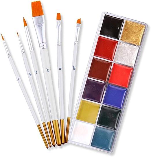 duhe189014 Pintura Corporal, Colores Paleta De Sombras De ...