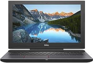 Dell G5 Gaming Laptop 15.6in FHD 8th Gen 6 Core Intel i7-8750H Processor, 16GB Memory, 256GB SSD +1TB HDD, NVIDIA GeForce GTX 1050Ti, Licorice Black (Renewed)