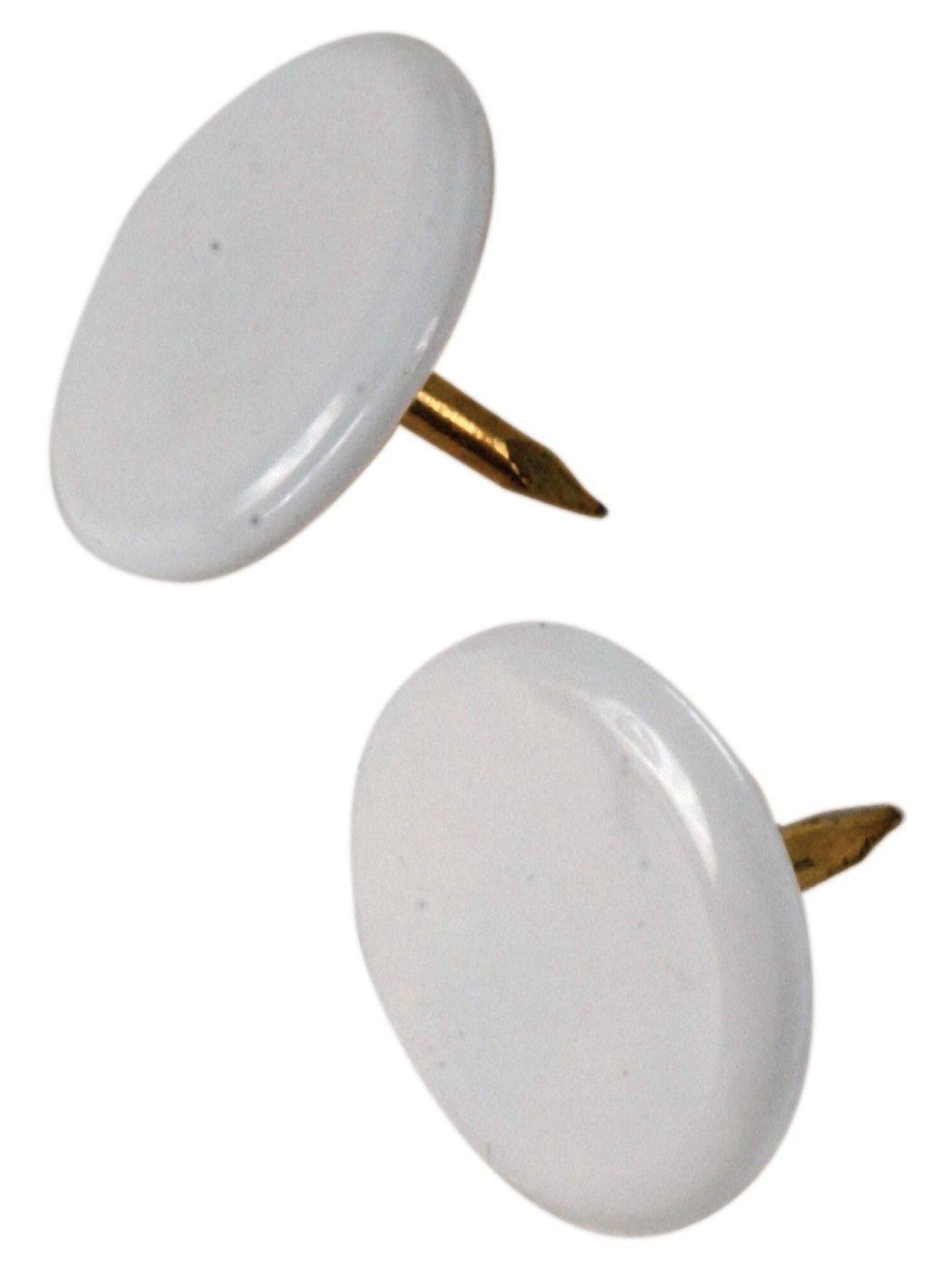amazon com ook 122674 white thumb tacks home improvement