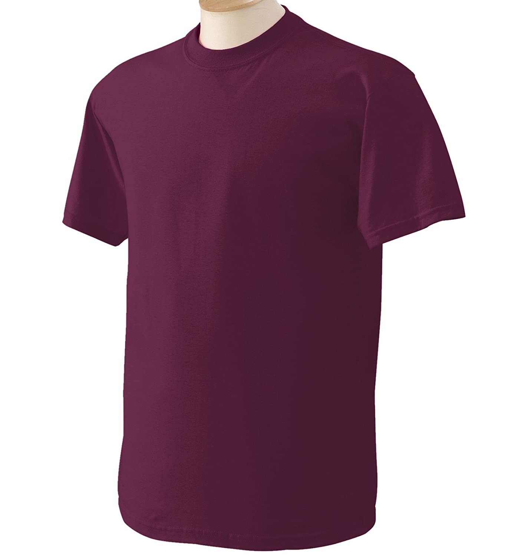 (ギルダン) Gildan メンズ ヘビーコットン 半袖Tシャツ トップス カットソー 定番 男性用 B014W1EXD2 4L|マロン マロン 4L