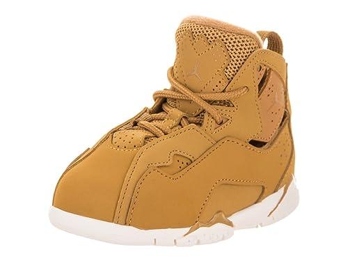 c578e2f6f4d241 Jordan Nike Toddlers True Flight BT Golden Harvest Golden Harvest  Basketball Shoe 4 Infants US
