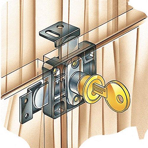 Double Door - Door Lock With Key Double
