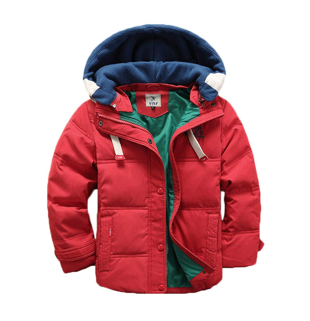 Valentina Kids Winter Latest Thicken Hooded Jacket Warm Quilted Coat Casual Outdoor Cool Cute for Boys Girls Autumn Spring Vinmin V3389