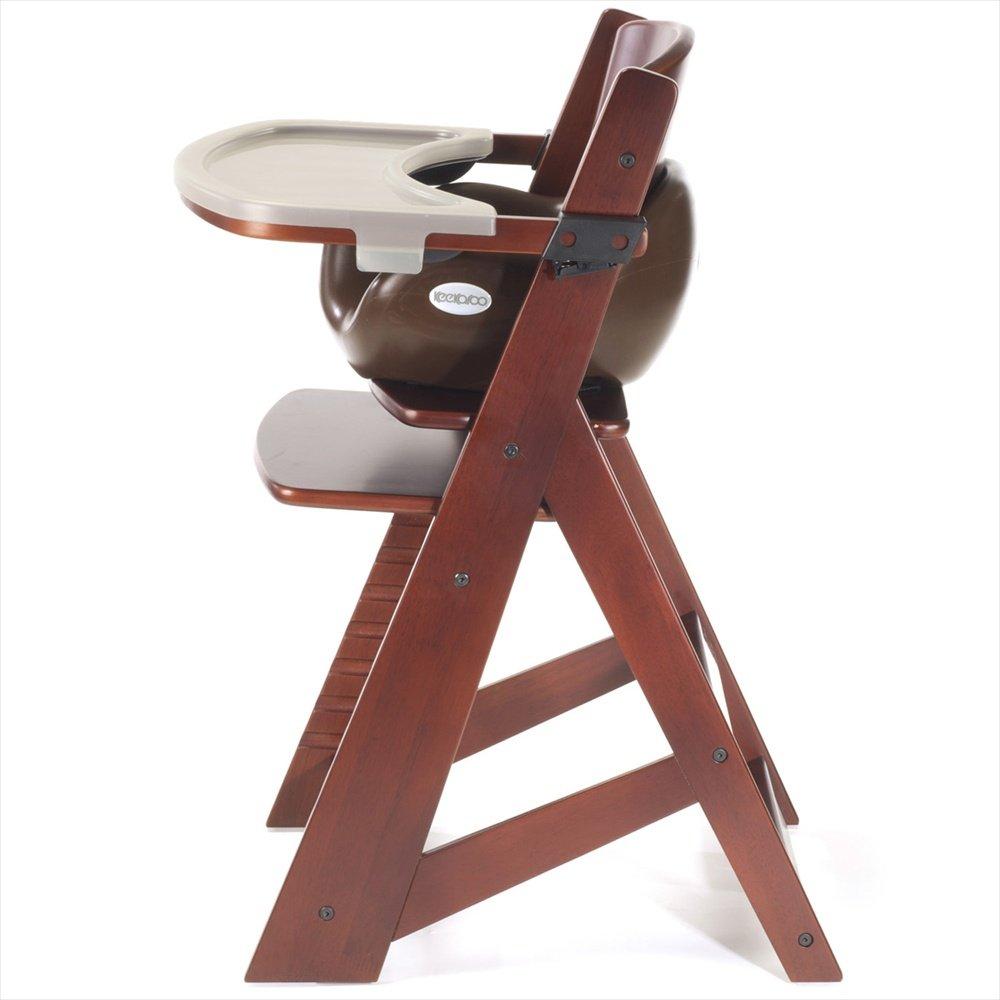 Great Amazon.com: Keekaroo Height Right Highchair With Insert U0026 Tray   Chocolate    Mahogany Base: Baby