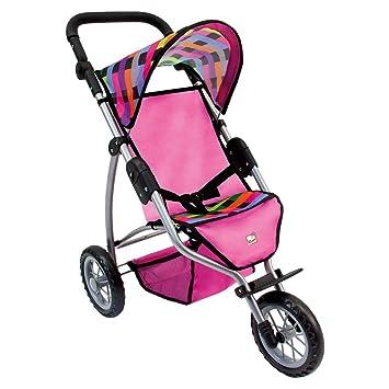 Amazon.es: ToyCentre Cochecito para muñecas de tres ruedas grande Bino Europe 82912: Juguetes y juegos