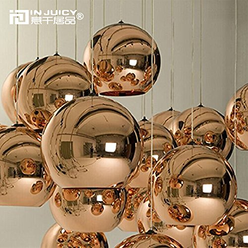 Single Globe Pendant Light
