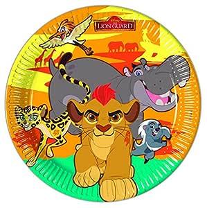 8 Platos EL REY LEÓN de Disney para Cumpleaños niños o