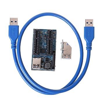 Mi Tu - Tarjeta de expansión PCI Express USB 3.0 PCI-E ...