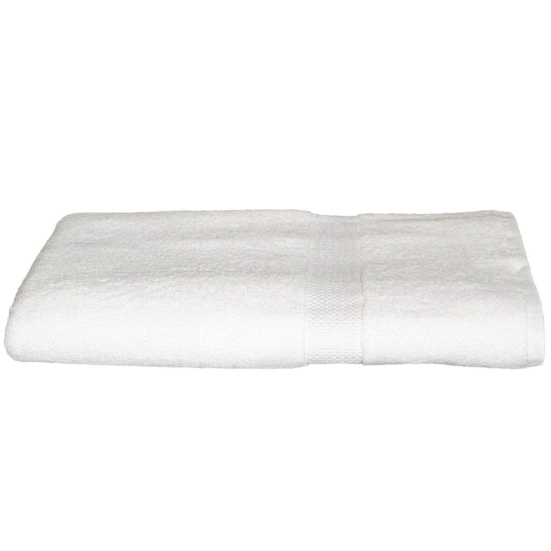 Turkish Bamboo Bath Sheets Towels 2 Piece Set 35x70, White