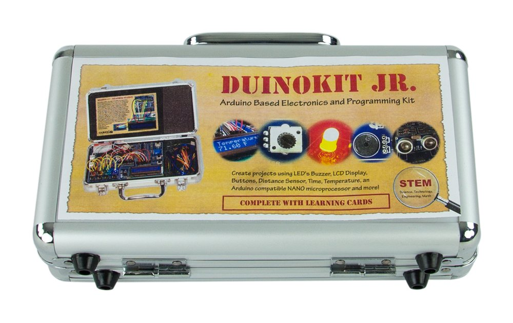 DuinoKit Jr Arduino Based Prototyping/Learning System