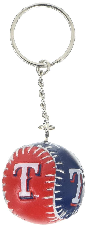 Amazon.com: MLB Texas Rangers equipo imagen bola llavero ...