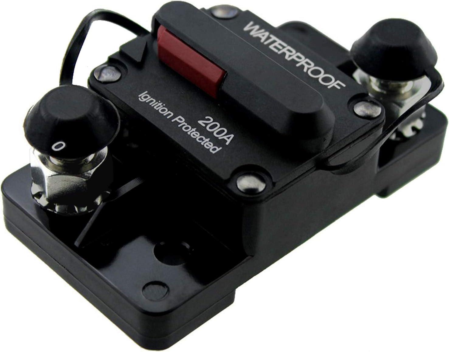 Disjoncteur Automatique de surintensit/é 200 A 12 V//24 V//48 V