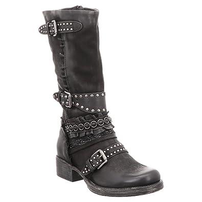 Mjus Stiefel Overknee Schwarz Nero Schuhe & Handtaschen