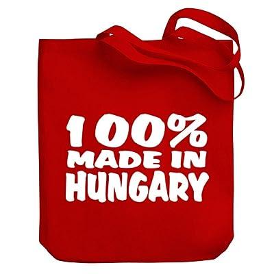 Teeburon 100 Made in Hungary Canvas Tote Bag