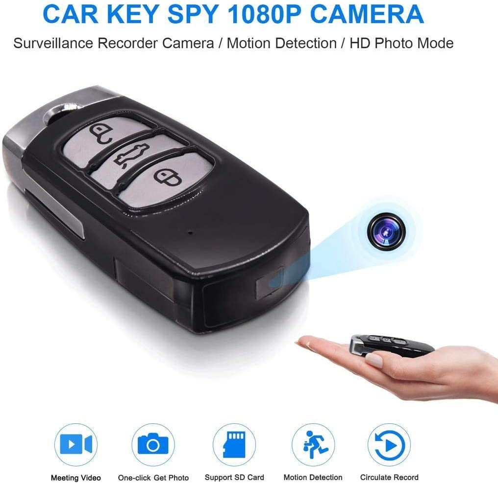 Mini Camera Car Key Chain Motion Detection DVR Cam Camcorder
