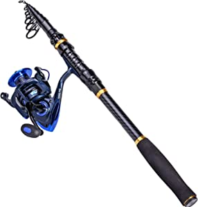 TROUTBOY Fishing Rod and Reel Combos