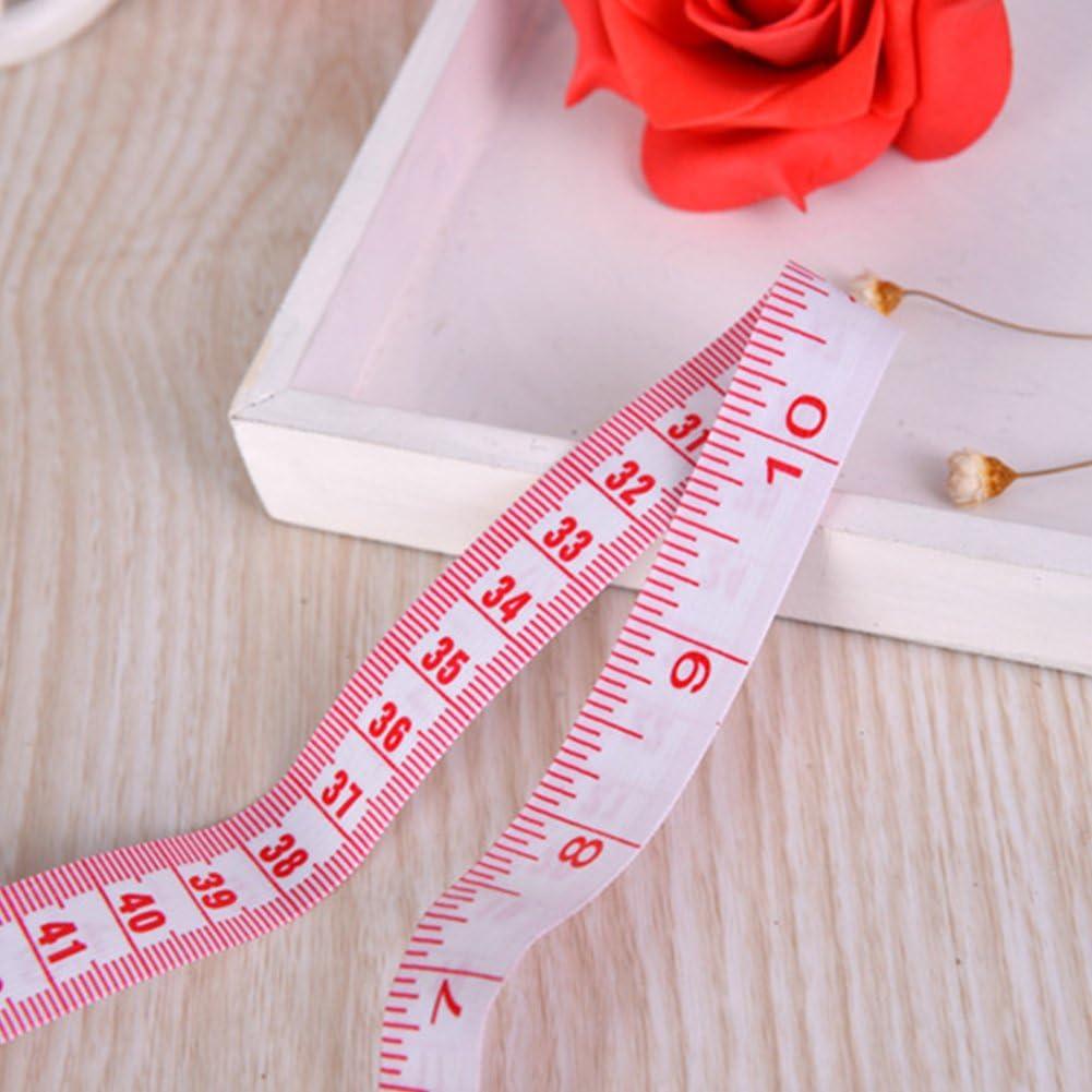 200 cm couture et couture M/ètre ruban souple /à double /échelle pour perte de poids