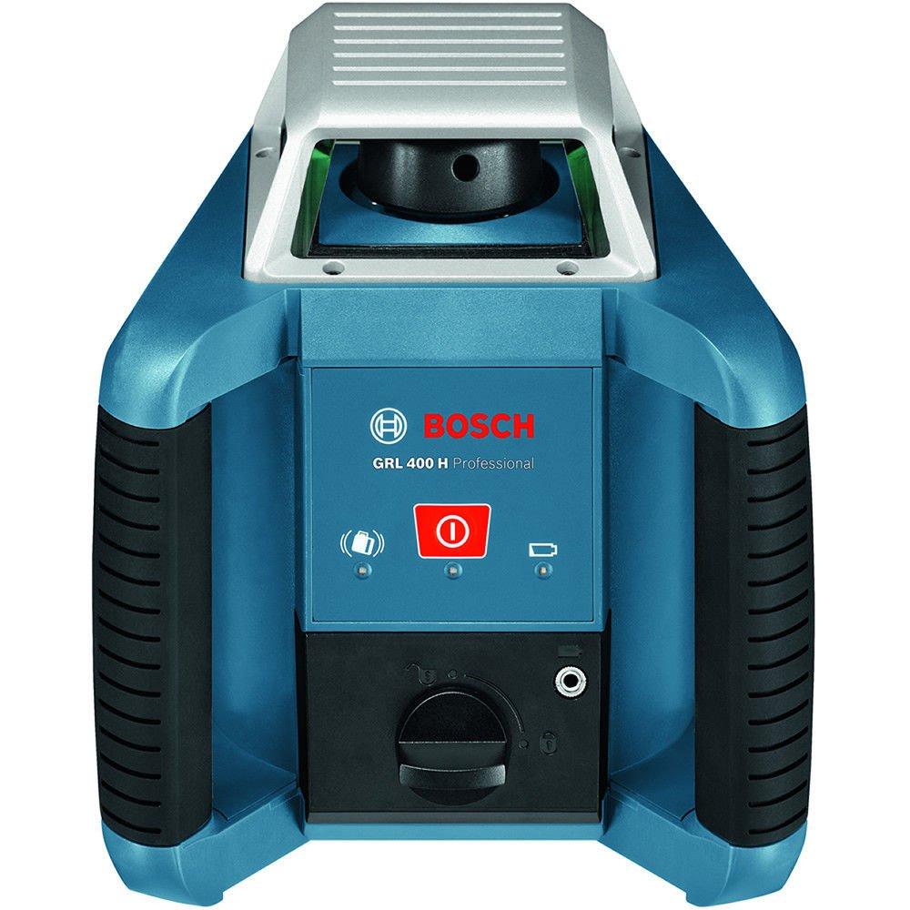 Bosch Professional 061599403U GRL H-Nivel láser Giratorio Horizontal, LR1, Regla graduada GR 240, trípode BT 170 (Alcance: 400 diámetro con Receptor, ...