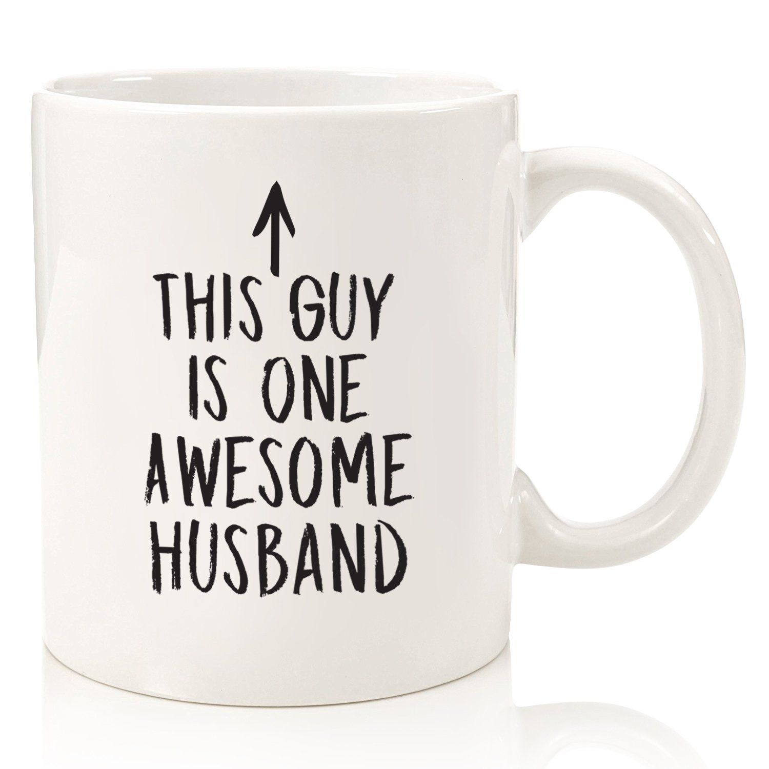 b5462d2fa07 Husband Gifts - Funny Coffee Mug: One Awesome Husband - Best Valentines Day  or Anniversary Gifts For Men, Him - Unique Birthday Idea From Wife - Fun ...