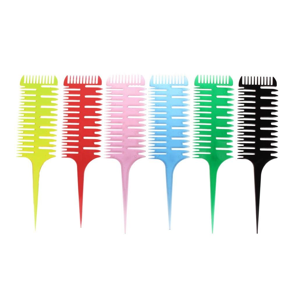 Dionshop Barbers Salon Hair Dyeing Combs Multifunctional Fishtail Bone Shape Comb Doinshop