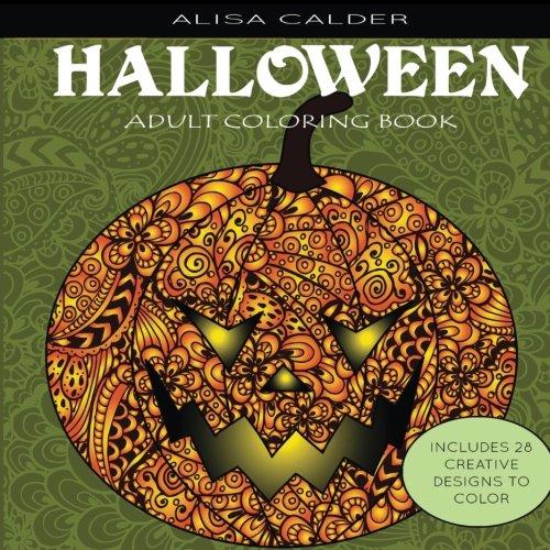 Adult Coloring Books: Halloween (Adult Halloween Cartoons)