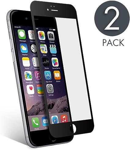 aiMaKE Protector de Pantalla Compatible con iPhone 6 /iPhone 6s , 3D Pantalla Completa Cristal Templado Pantalla protectora Anti Blu Ray,cubre la pantalla completa perfectamente para iPhone 6s Negro: Amazon.es: Electrónica