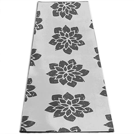 Amazon.com: Outdoor Exercise Mat Floral Pattern Creative ...