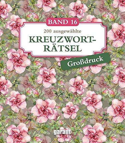 Kreuzworträtsel Deluxe Groß- Band 16