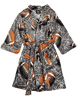 Fun Kidz - Big Boys Long Sleeve Plush Robe