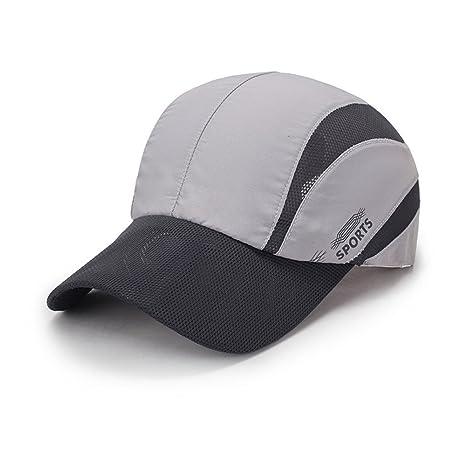 Gorras de béisbol,sunscreen moda verano seco rápido Snapback ...