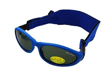Baby Wrapz 2 Modulare Sonnenbrille, mit 2 Kopfbändern und abnehmbaren Bügeln, 0-5Jahre (Violett)