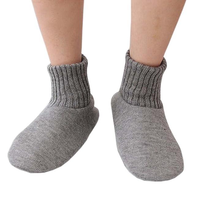 Calcetines Fuzzy calcetines antideslizantes deslizante mantener calcetines calcetines calcetines calcetines de vacaciones para hombres, B