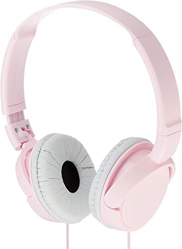Sony Dynamic Foldable Headphones MDR-ZX110-P Pink