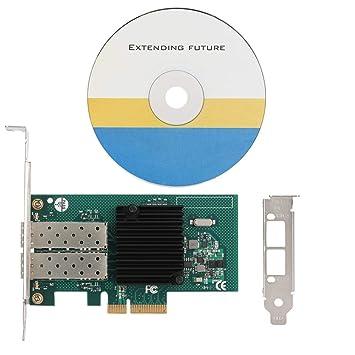 Adaptador de tarjeta de red Gigabit de fibra de doble puerto ...