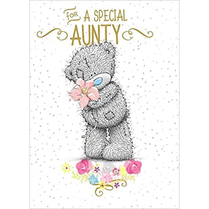 Amazon Special Aunty Me To You Bear Birthday Card Office Products