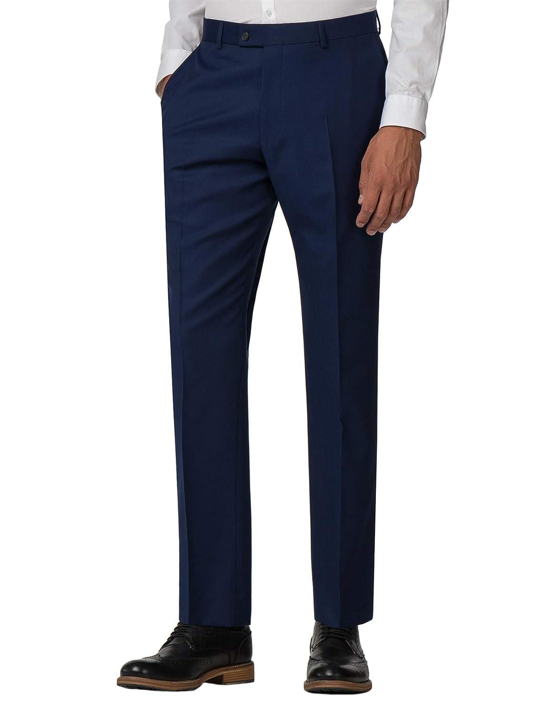Ben Sherman Men's Blue Suit Trouser in 30R to 42R