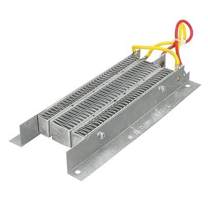 LaDicha 400W 12V Electric Ceramic Aislamiento Termostático Ptc Elemento Calefactor Kit